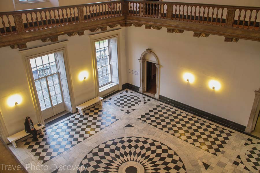 Queens House main hall Greenwich London