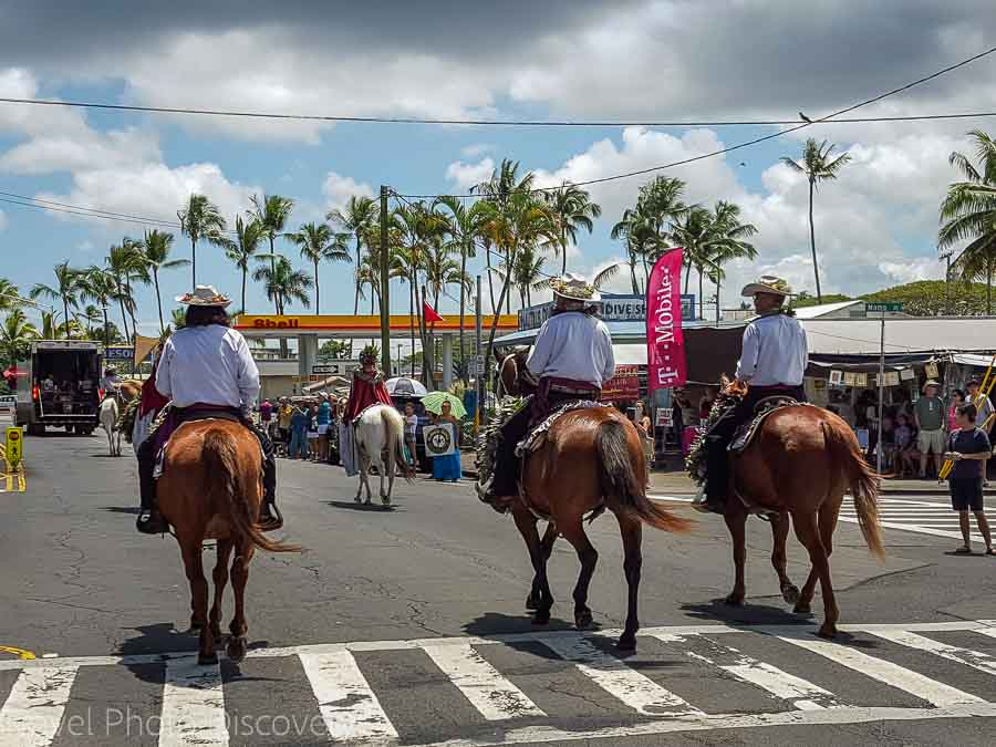 Merrie Monarch Parade in Hilo Hawaii