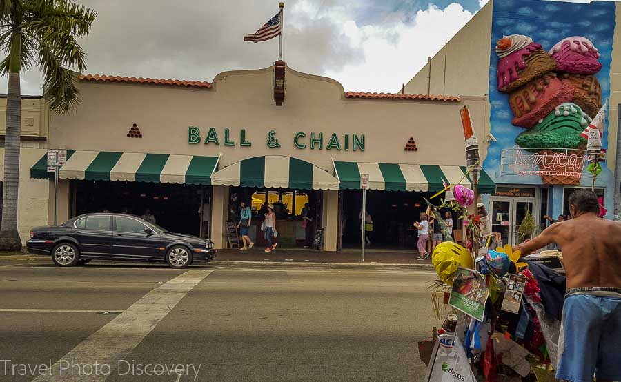 Ball and Chain bar in Little Havana, Miami