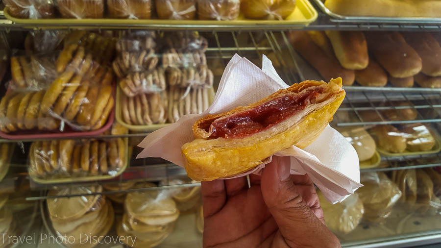 Guayaba pastelito at Yisil bakery in Little Havana