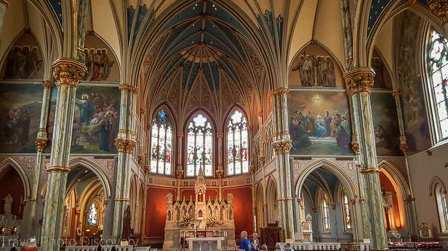 Catholic cathedral of St. John the Baptist in Savannah, GA