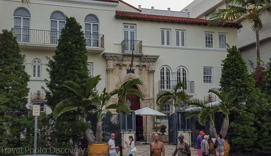 Gianni Versace's home on Ocean Drive in South Beach