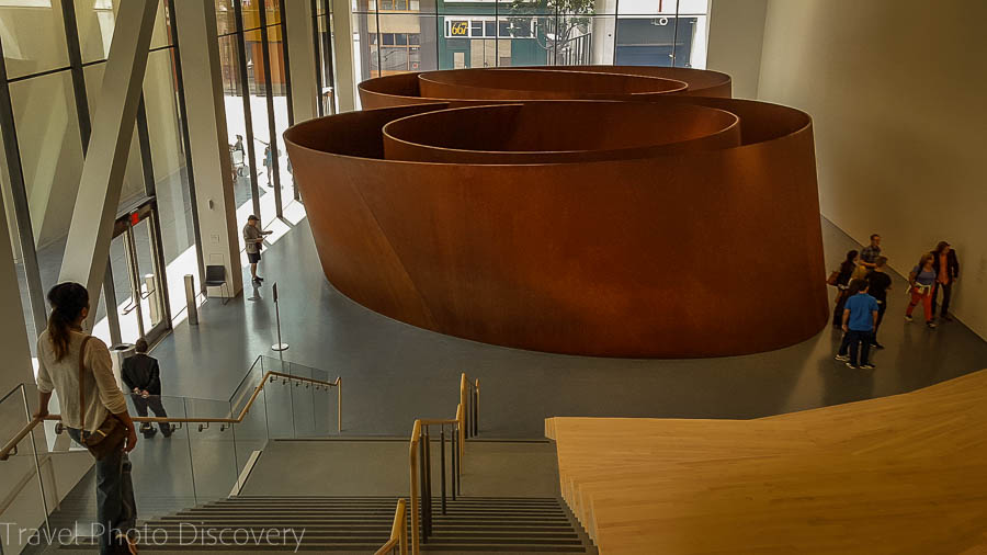 Richard Serra Sequence Main entry at SFMoma