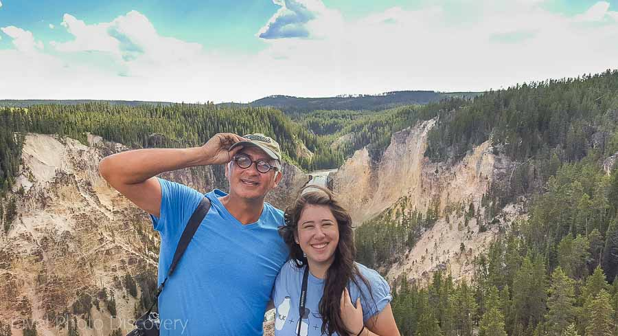 Fronting Yellowstone Grand Canyon 2016