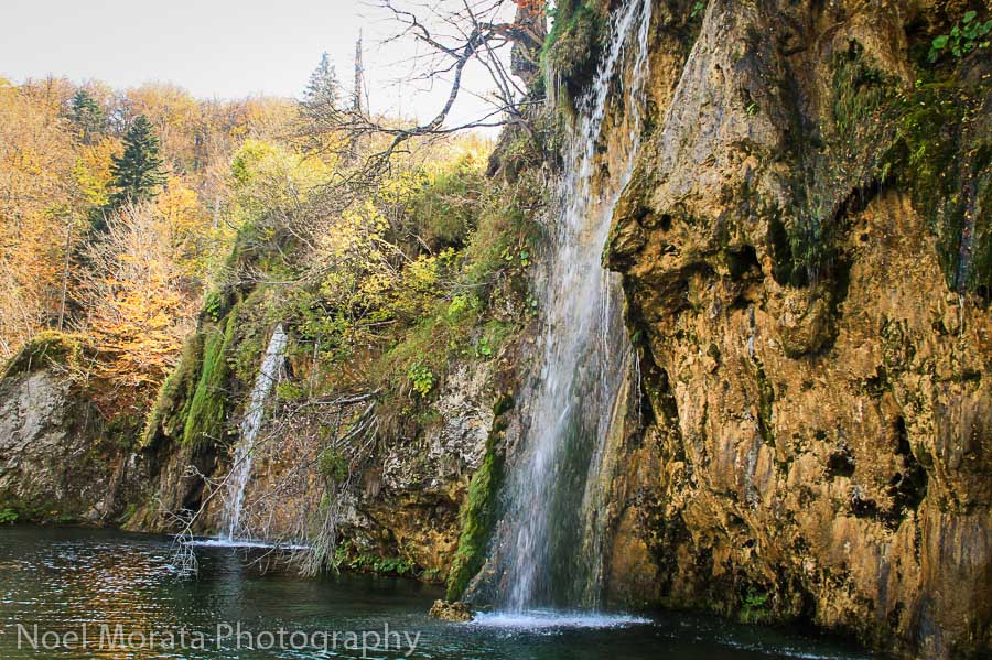 Plitvice-National-Park Fall road trip through Croatia