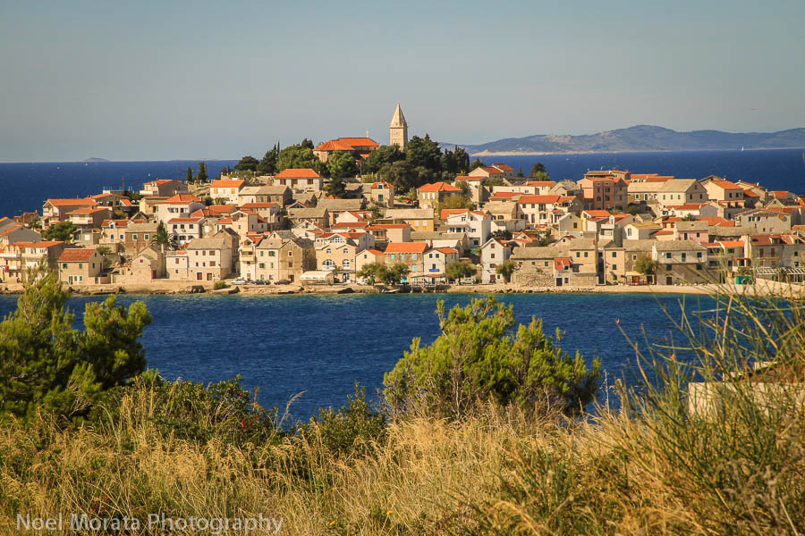 Primosten Fall road trip through Croatia