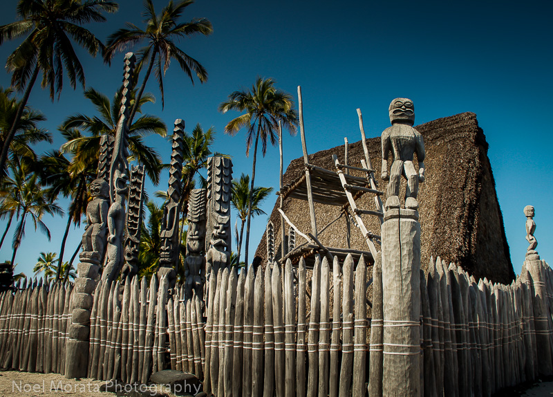 The-Place-of-Refuge, Pu`uhonua o Honaunau National Historical Park