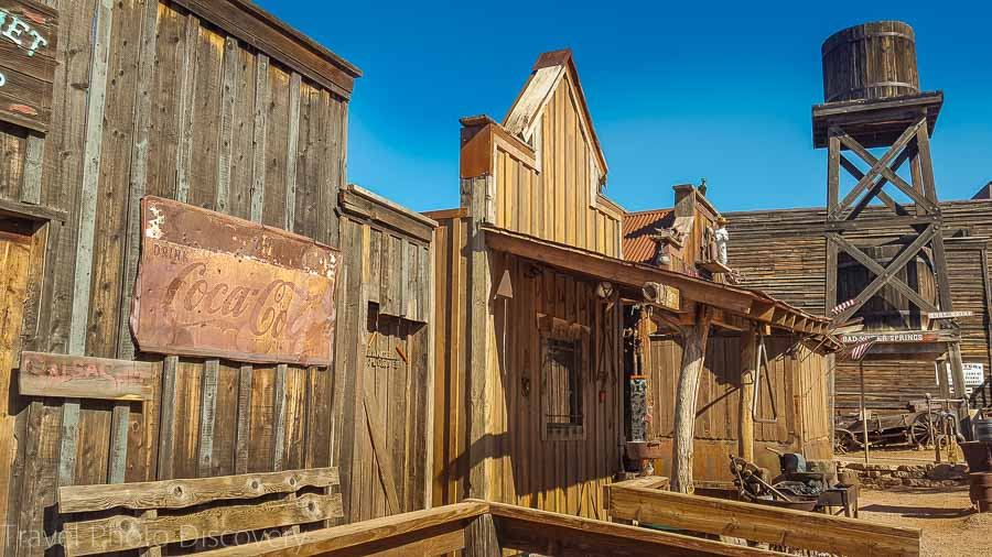 Goldfield Ghost town Driving the Apache Trail in Arizona