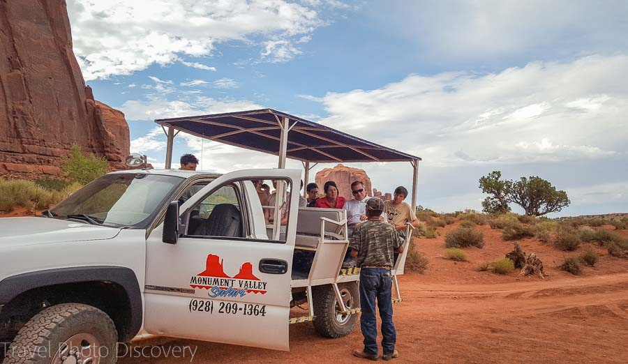 Jeep tours at Monument Valley, Utah
