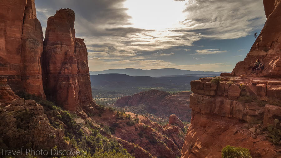 Visiting Sedona landscapes and attractions