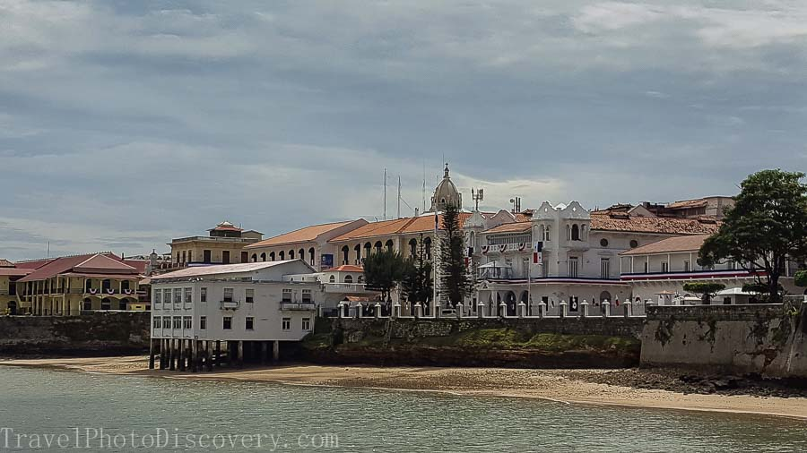 Presidential palace at Casco Viejo Visiting Panama City's Unesco site Casco Viejo