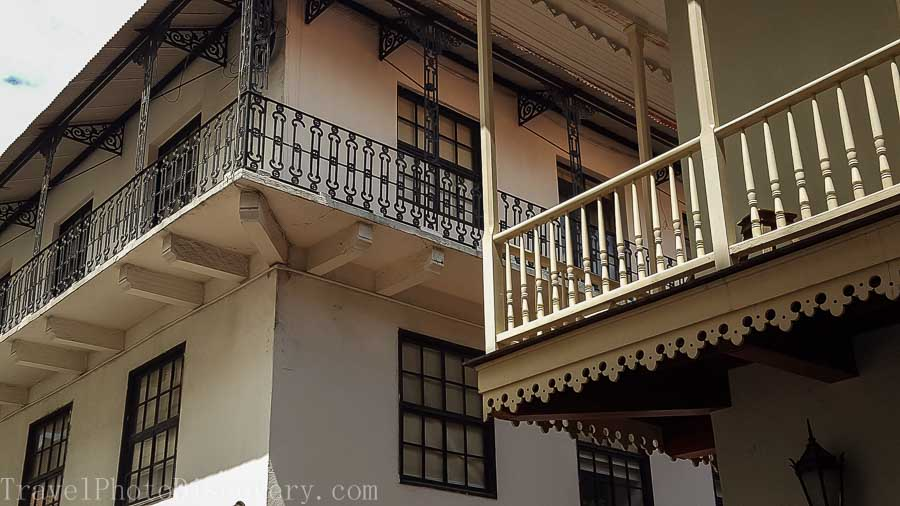 Architectural details walking around Casco Viejo in Panama City