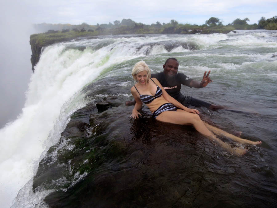 Top adventure and eco experiences swimming above Victoria Falls