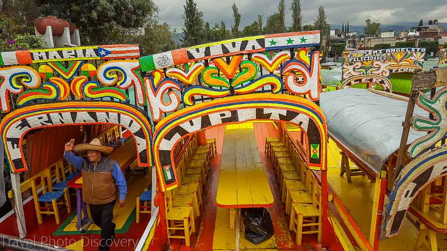 Touring Mexico City Tours by Locals floating markets of Xochimilco