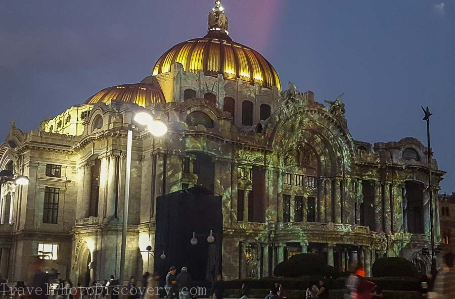 Passing through the Zocalo at night time with Tours by Locals