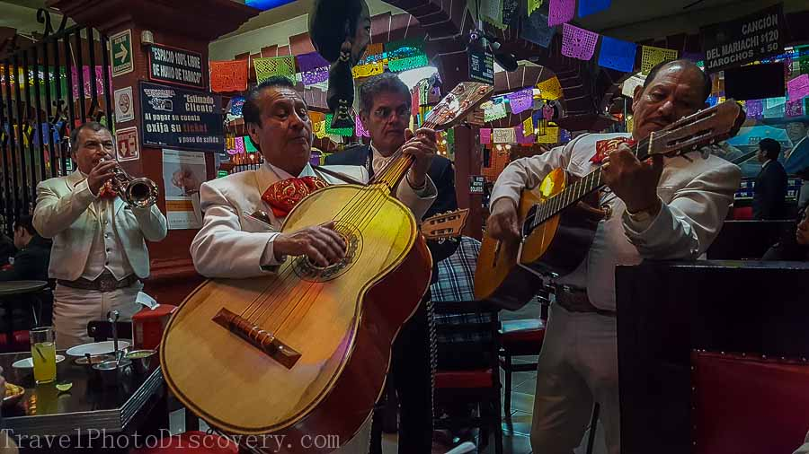 Mariachi singing time at Garibaldi Square Touring by Locals