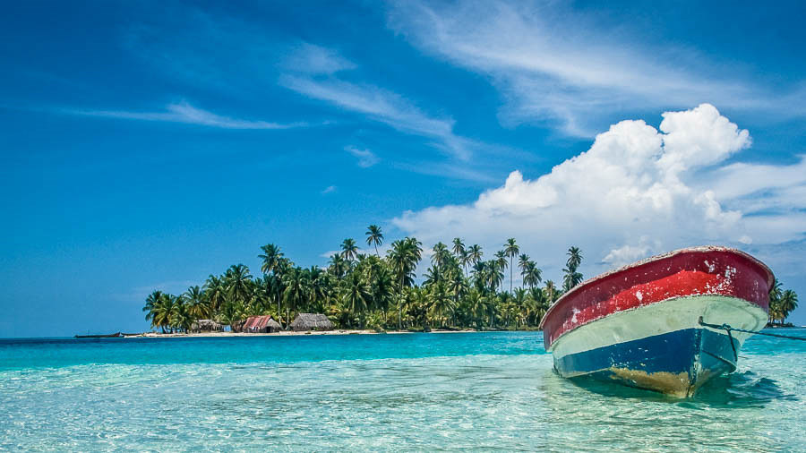 Romantic getaways around the world San Blas Islands