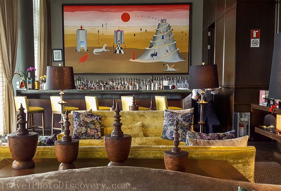 Bar Lounge at the St. Regis Hotel Mexico City