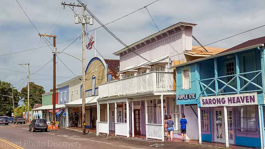 Honomu town Things to do the Big Island with kids
