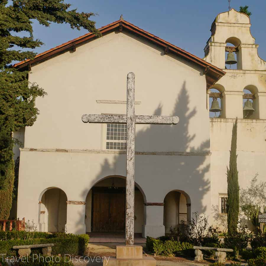 The church of Mission San Juan Bautista