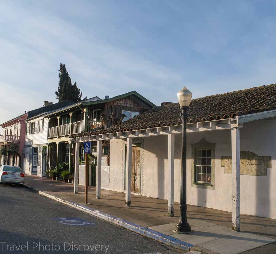 San Juan Bautista historic district Road trip to San Juan Bautista