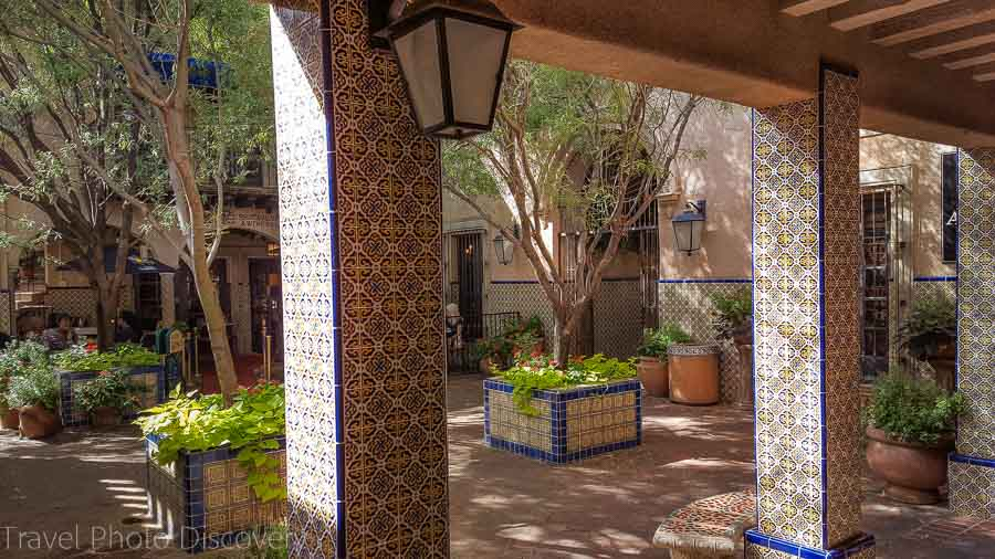 Central Sedona district and shopping venues