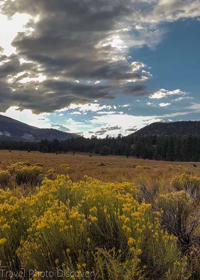 Road trip and scenic loop drive to Wupatki National Monument