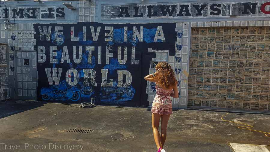 Travel Photo postcard – Wynwood District Miami