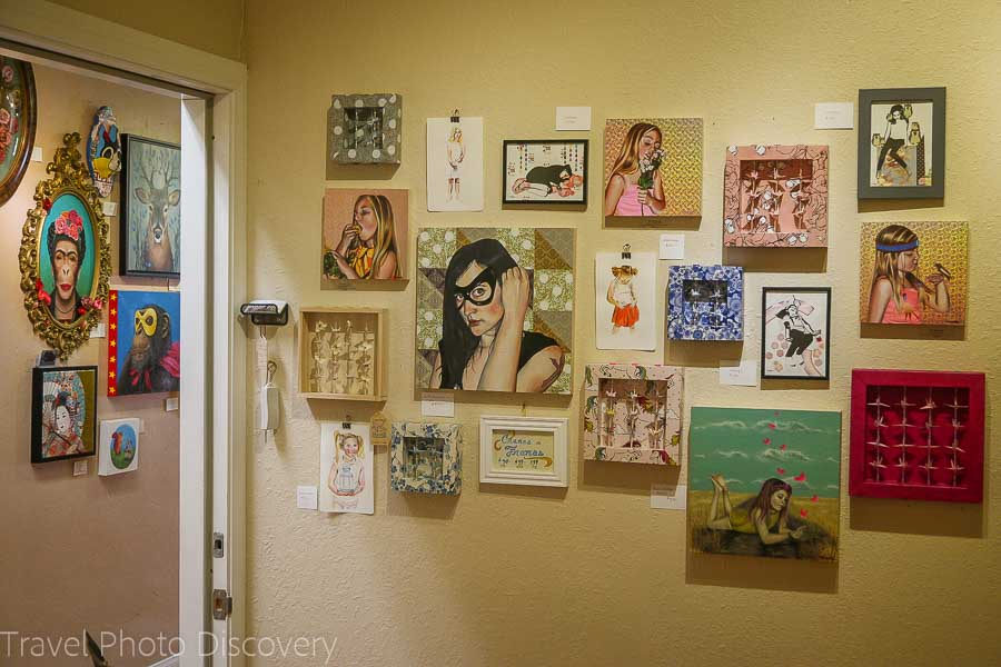 Distinction gallery in downtown Escondido San Diego County