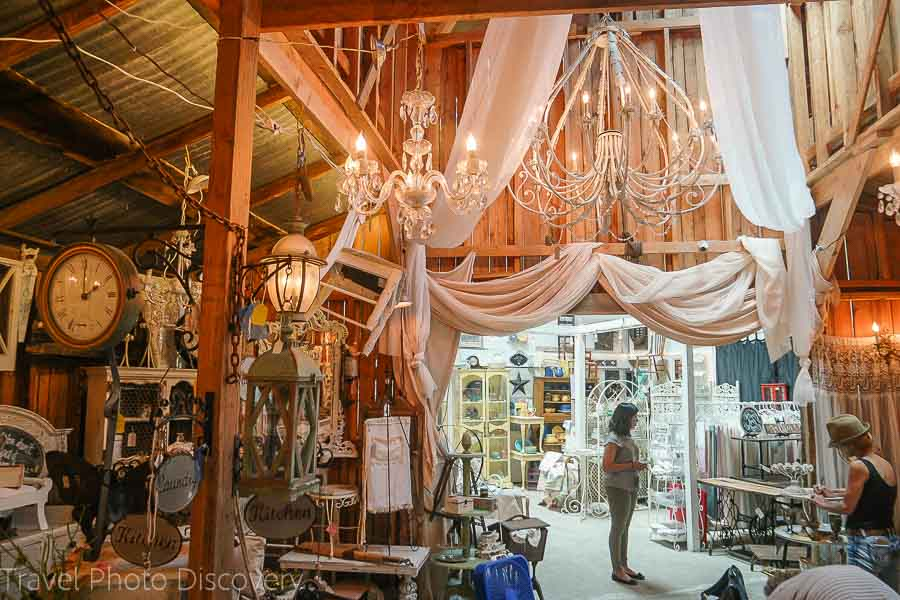 Antique shopping in Escondido California