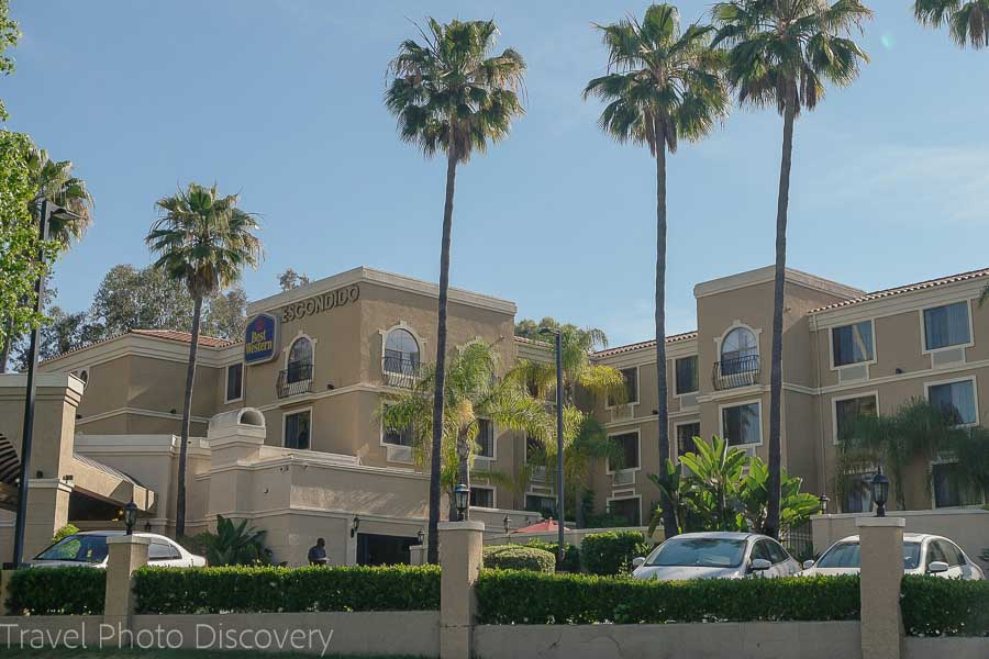 Weekend getaway Escondido California Best Western Escondido
