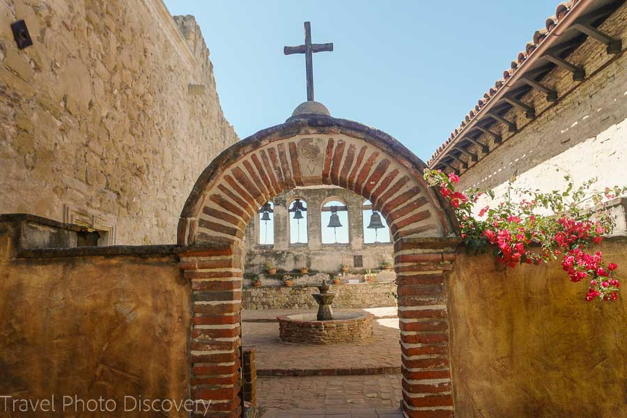 The bells of San Juan Capistrano Mission