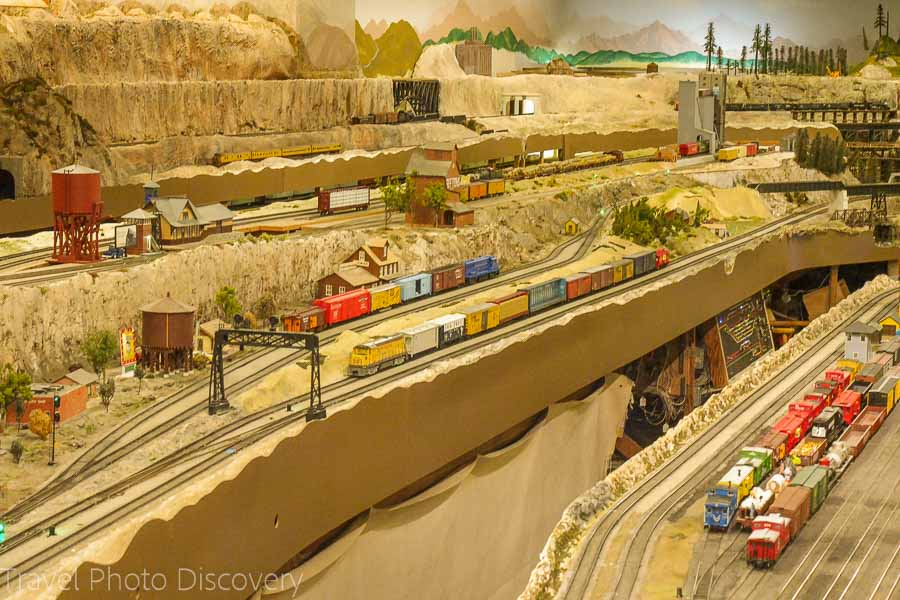 Model train Museums at Balboa Park in San Diego