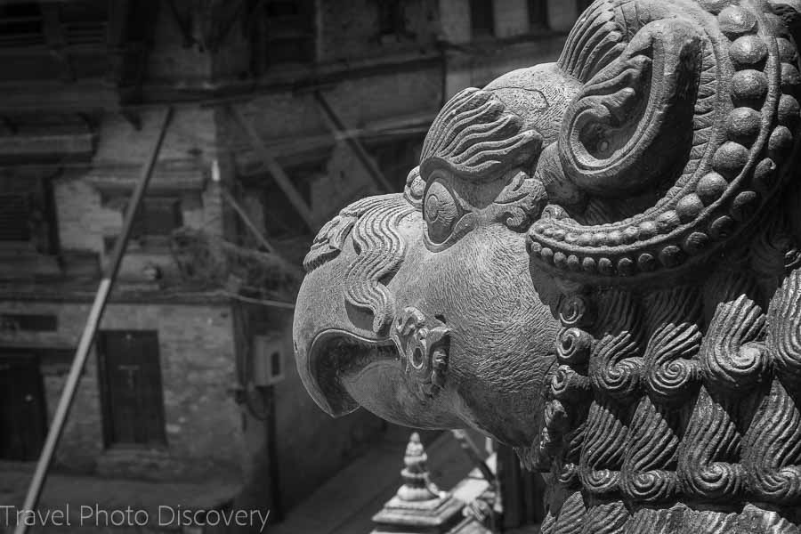 Architectural details Bhaktapur tour in Nepal