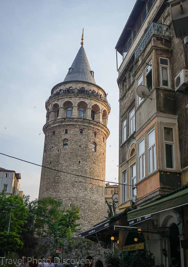 The Galata tower in Istanbul