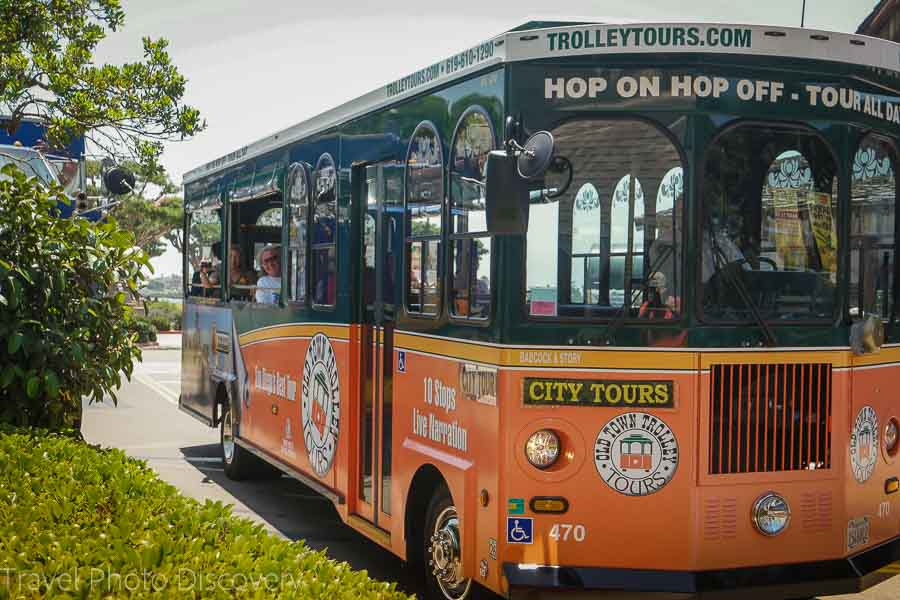 Hop On and Hop Off trolleys in San Diego