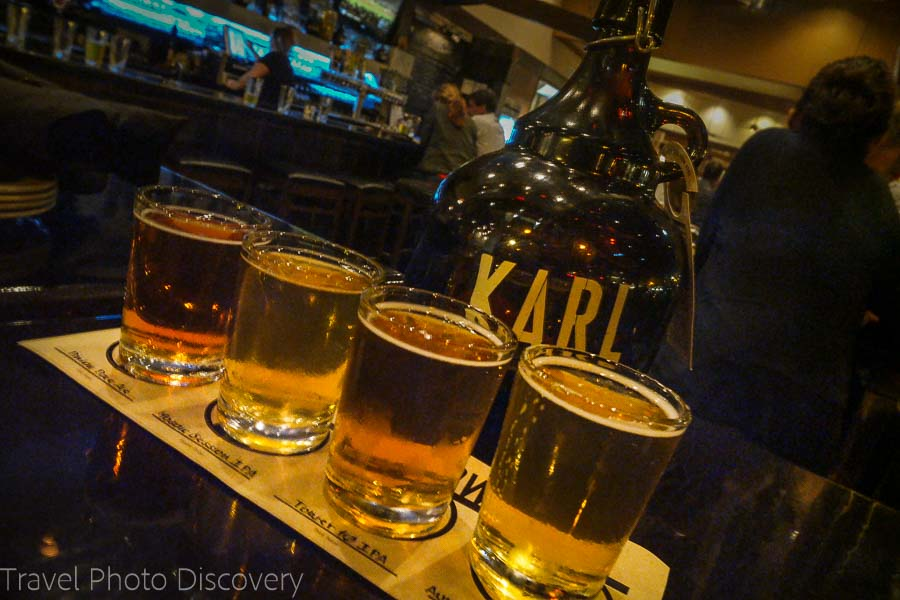Craft beer and happy hour time in La Jolla