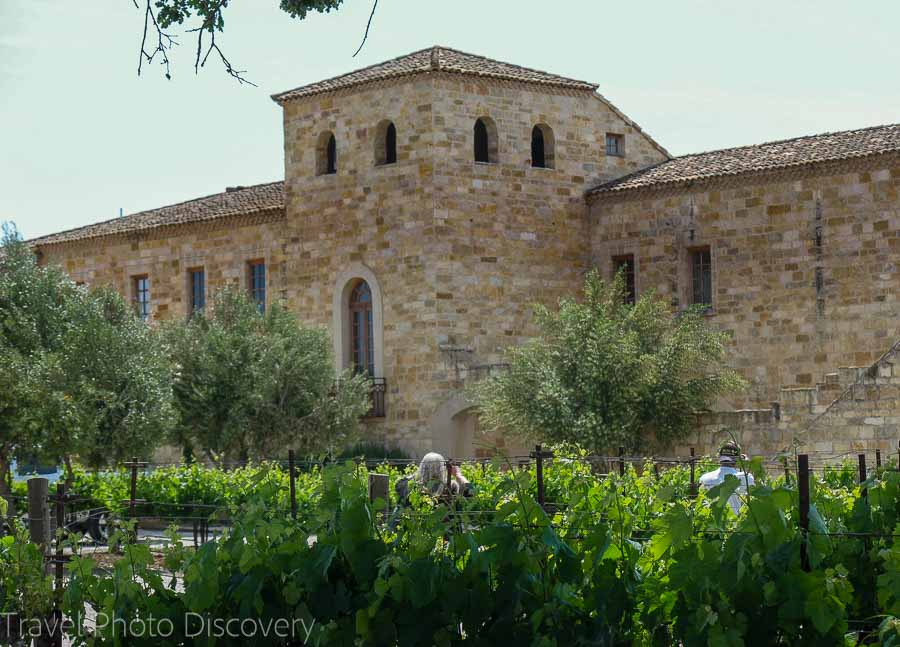A Tuscany style villa and winery Santa Barbara wine country and region