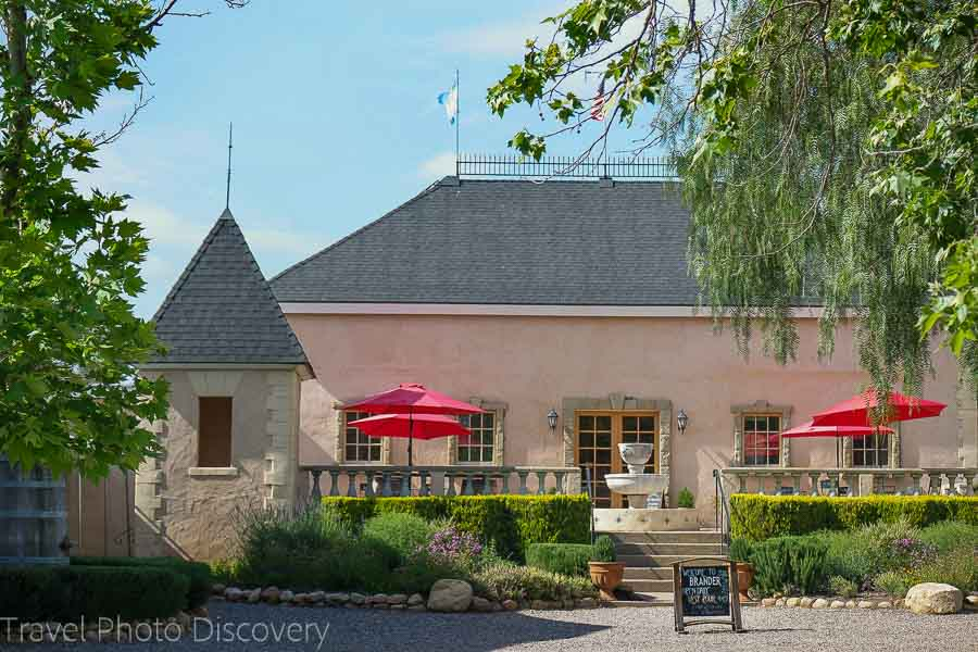 French chateaux Santa Barbara wine country and region