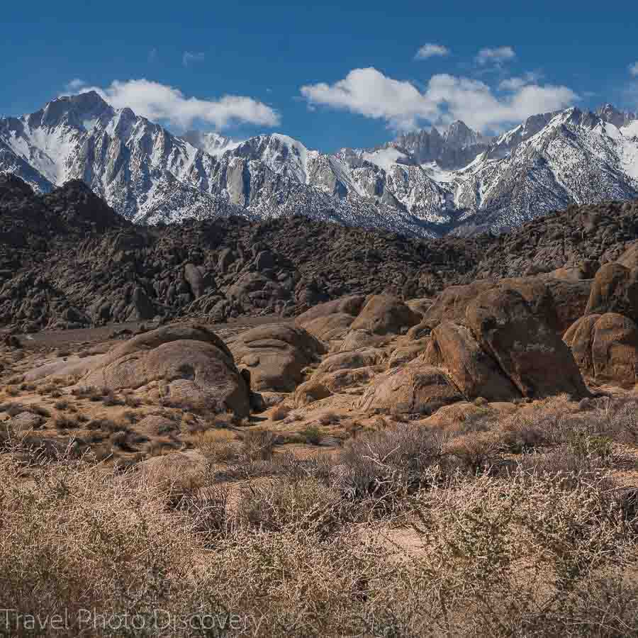 Road trip to Mt. Whitney base camp in the Eastern Sierras