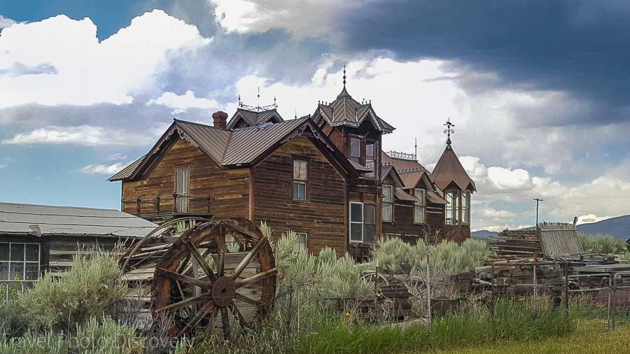 Mansion on the outskirts of Virginia City Montana