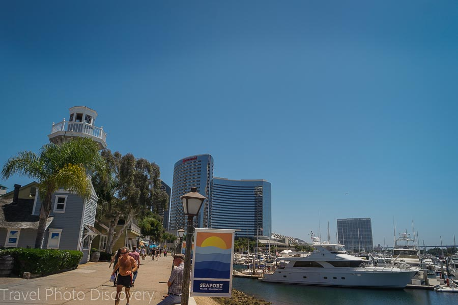 Sea Port Village San Diego attractions and locations