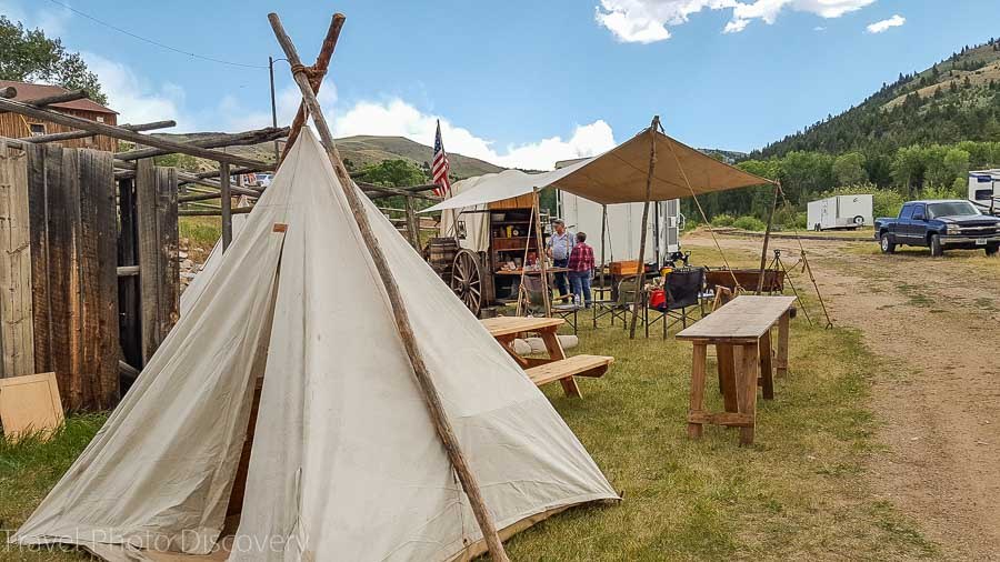 A foodie chuck wagon jamboree in Virginia City Montana