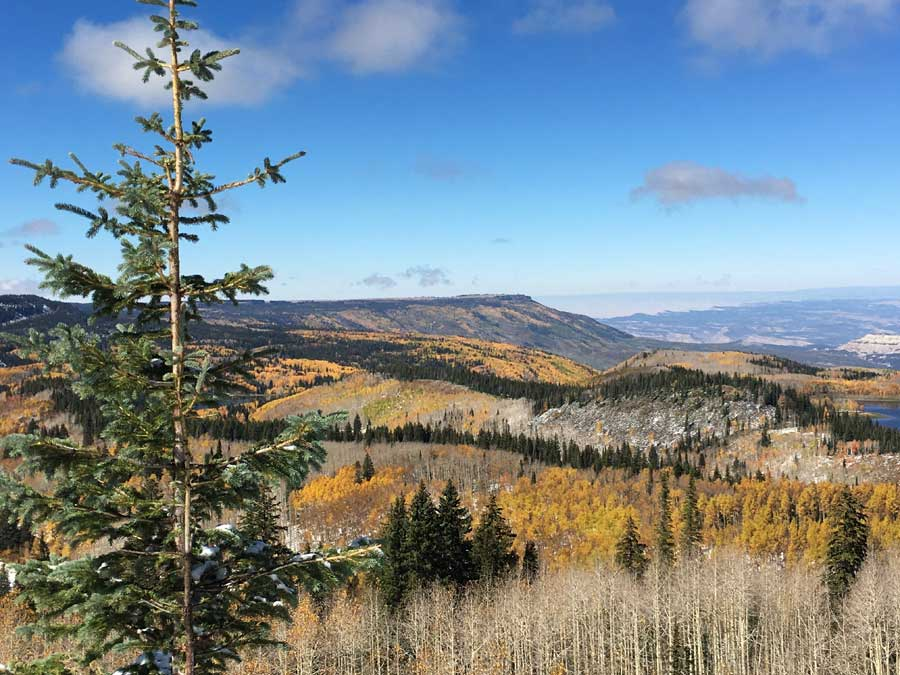 Western Colorado places to visit in the fall time
