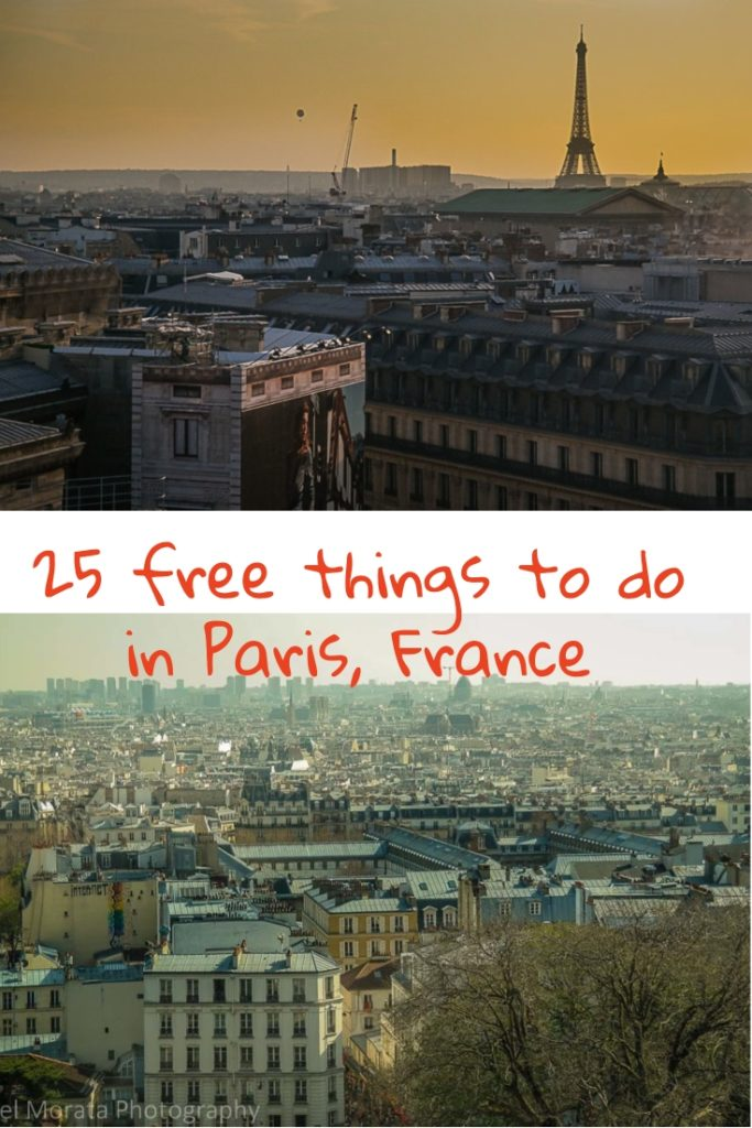 Free things to do in Paris France