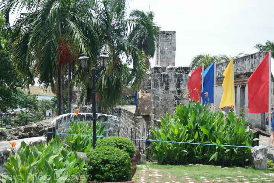 Fort San Pedro in the historic district of Cebu