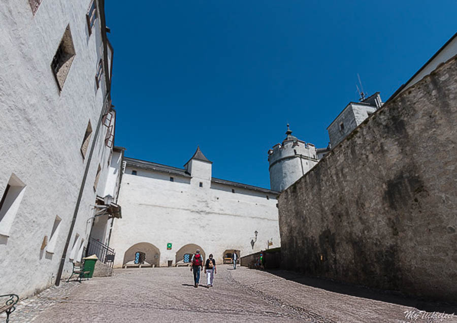 Inside the Hohensalzburg fortress