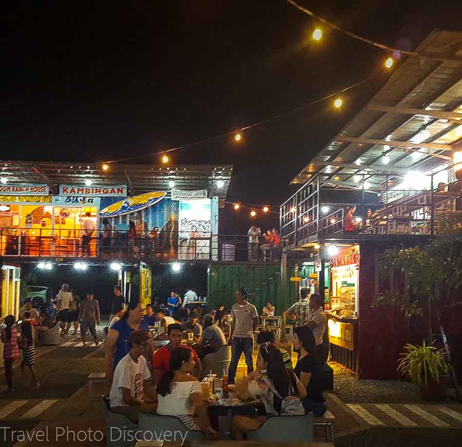 eating out vigan city at Sitio food park