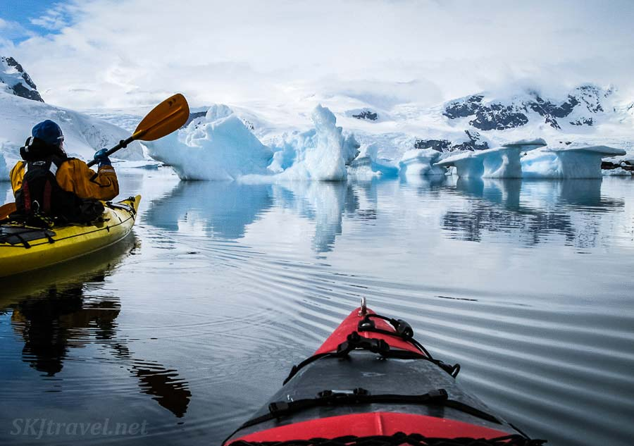 Exploring Cuverville Island