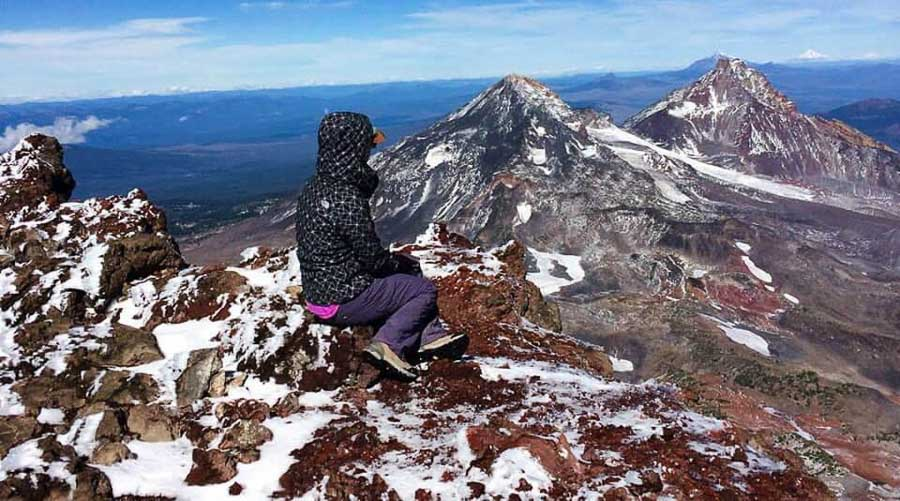Bend, Oregon South Sister Summit